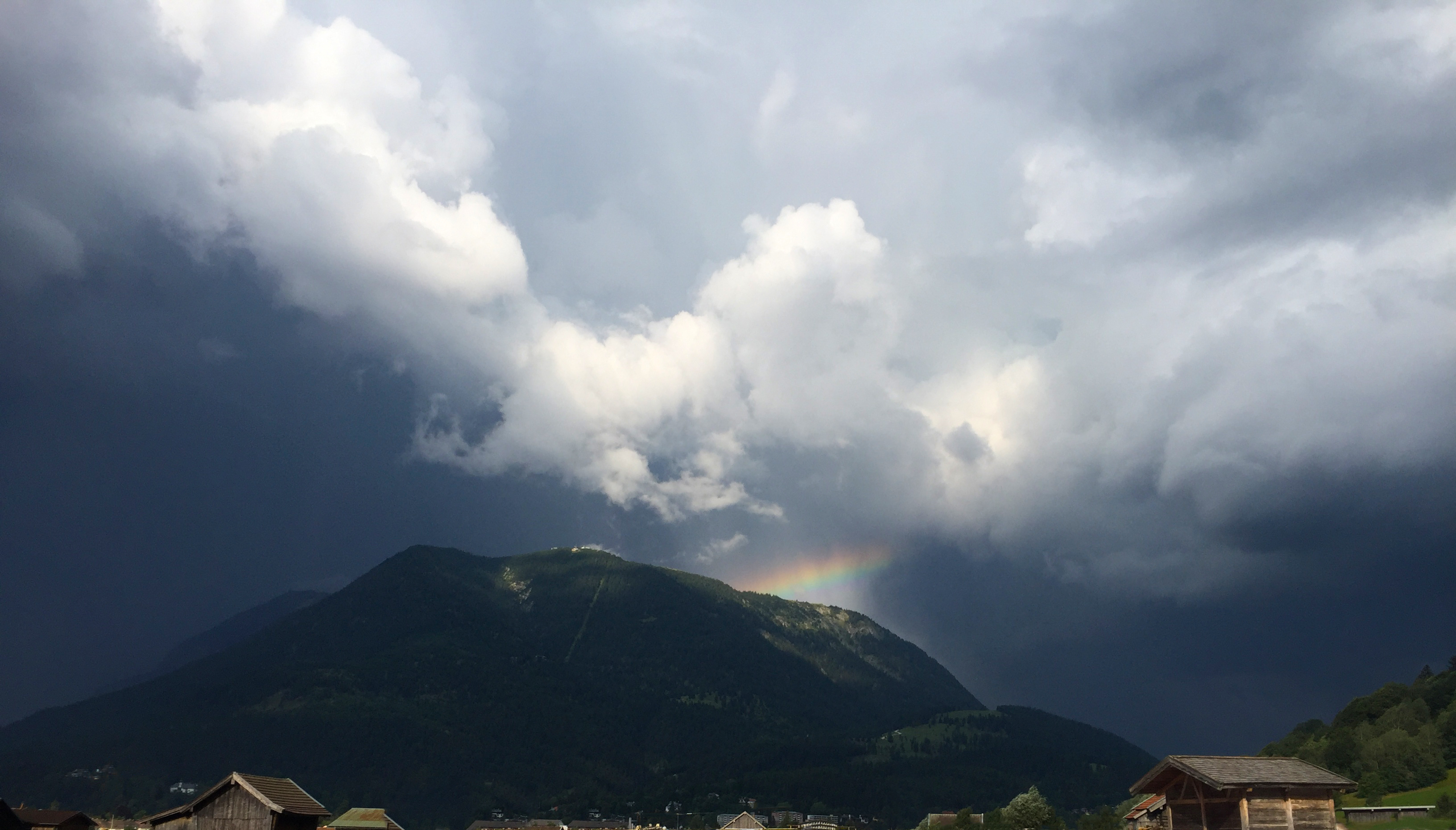 Wank – Gewitter, Donner und Sonne – Thunderstorm, Thunder and sun